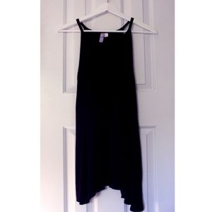 Black Midi Cotton Dress